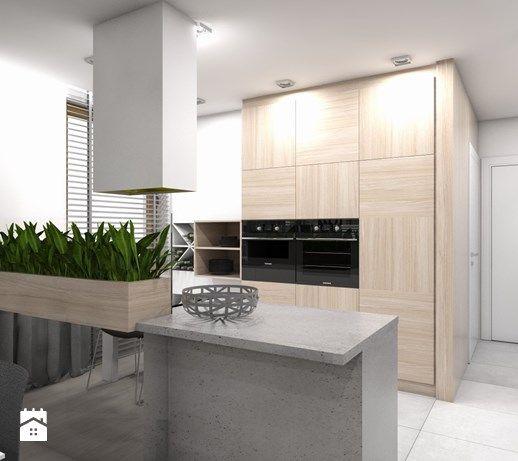 Tarnowskie Gory Projekt Domu Jednorodzinnego 1 Srednia Otwarta Kuchnia Jednorzedowa W Aneksie Z Wyspa Styl N Kitchen Inspirations Kitchen Interior Details