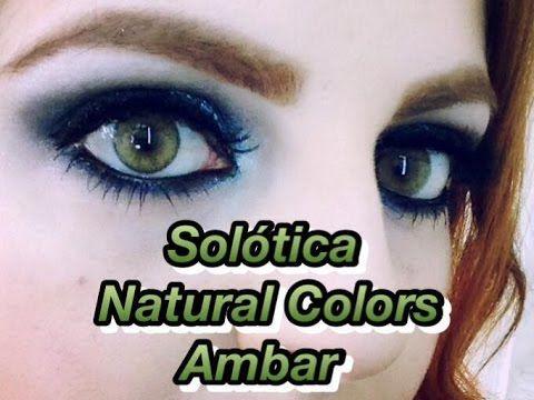 5b5e4160a0089 Solótica - Natural Colors - Âmbar Amber (Contact lenses contacts) + 10% .