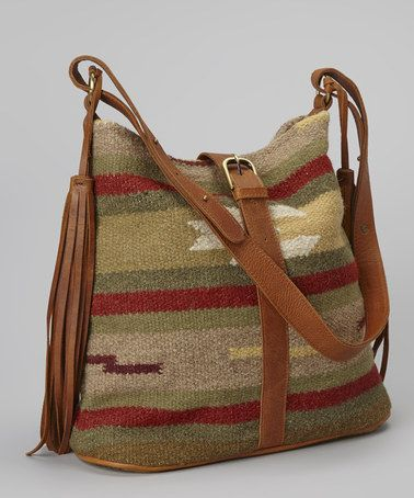 Take a look at this Red & Green Beatrice Shoulder Bag by Raj Imports on #zulily today!