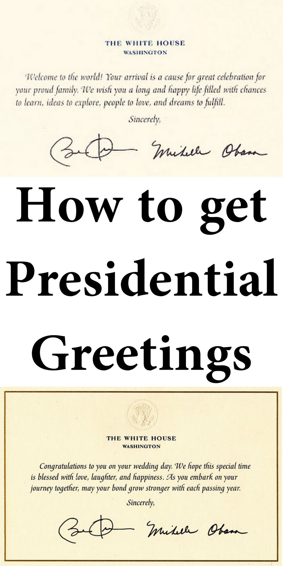 Reposting because time is running out to get presidential greetings because time is running out to get presidential greetings from the president and mrs obama how to get presidential greetings from the white house kristyandbryce Image collections