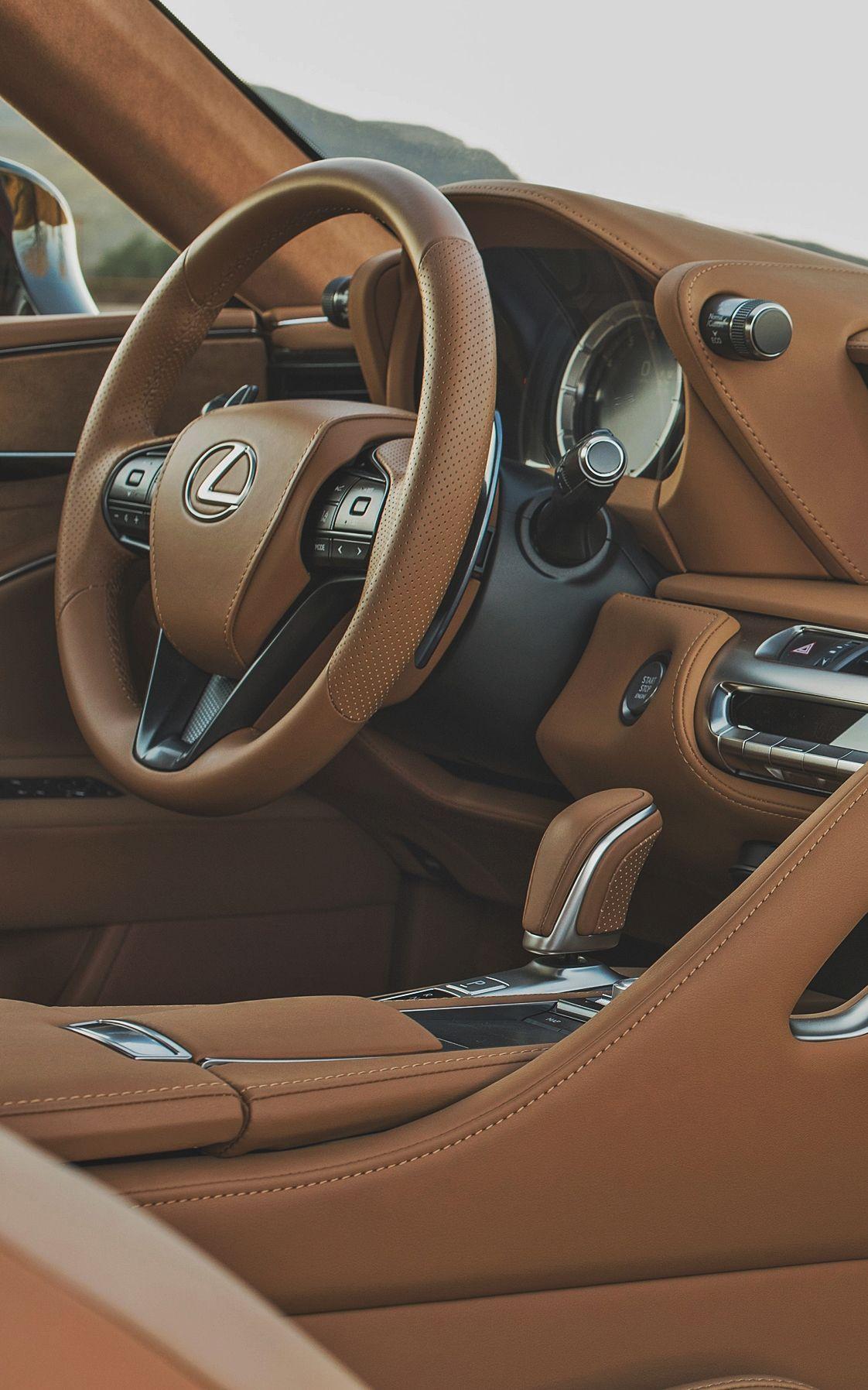 LC 500h Lexus cars, Best luxury cars, Luxury car interior