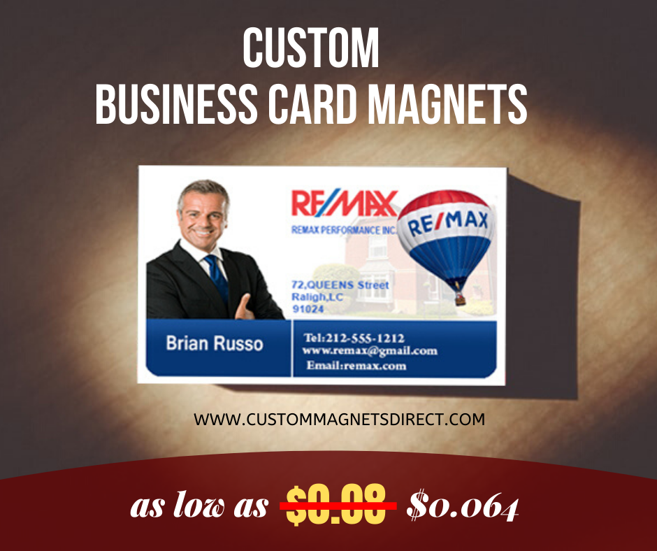 1000 Custom 2x3 5 Business Card Magnets 20 Mil Round Corners For 80 Business Card Magnets Magnetic Business Cards Custom Business Cards Personalized Magnet