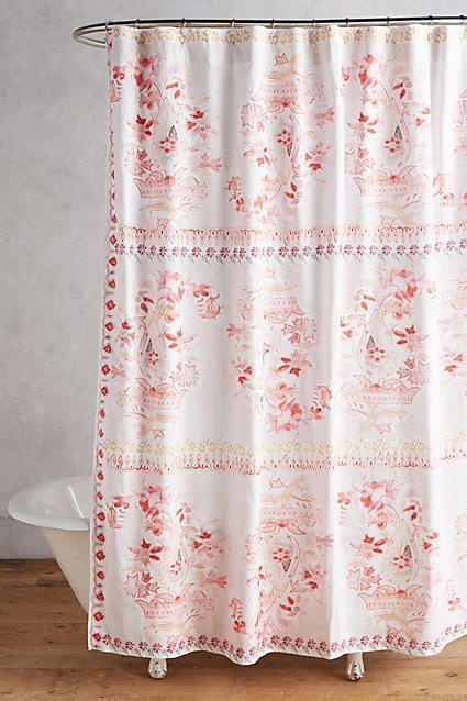 Anthropologie Tali Shower Curtain