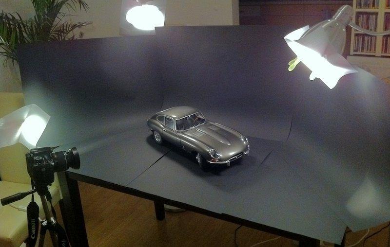 Jaguar E-Type 1:8 - Europäer - Das Wettringer Modellbauforum