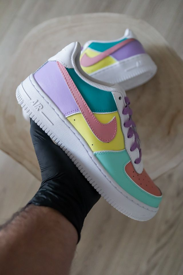 Nike Air Force 1 Candy The Custom Movement In 2020 Nike Air Shoes Cute Nike Shoes Air Force One Shoes