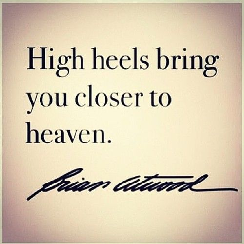 Brian Atwood understands. #quotation #shoelove #zappos