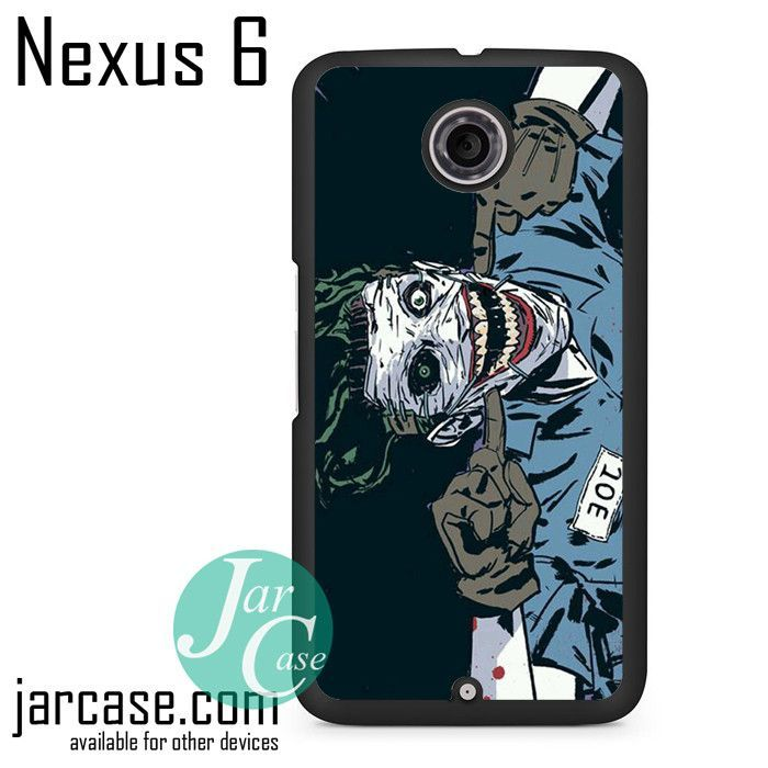 The Joker Comic Phone case for Nexus 4/5/6