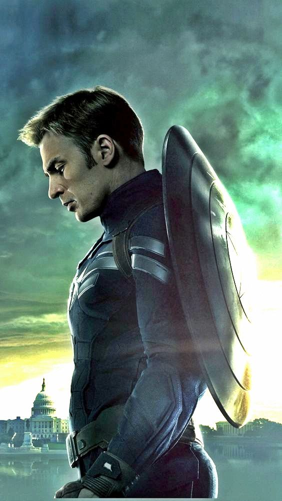IPhone Wallpaper Captain America Captainamerica Iphone Redmux Chris Evans