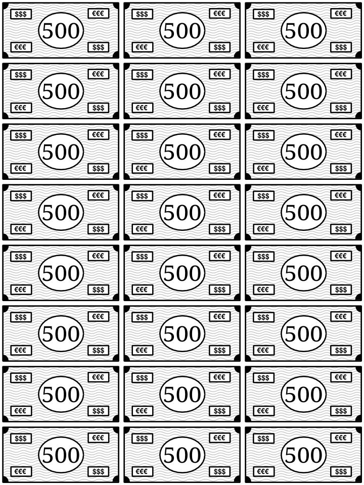 Www Bolsa Papel Com 2013 06 Billetes Para Imprimir Y Jugar Html M 1