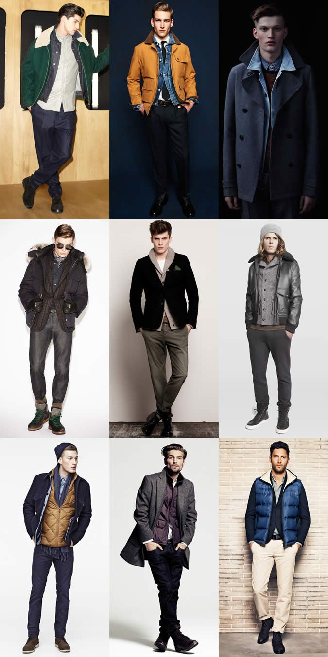 Men 39 S Cold Weather Outfits Layering Techniques Fabrics Pinterest Cold Weather Outfits