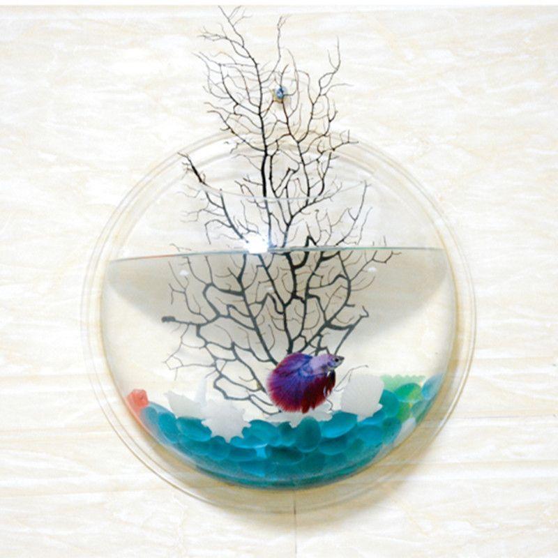 How To Decorate Fish Bowl Interior Romantic Zen Wall Aquarium  Aquariums  Pinterest  Wall