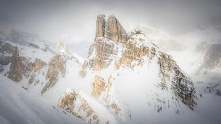 Sci alpinismo sulla La Gusela – Belluno – Veneto / Italia