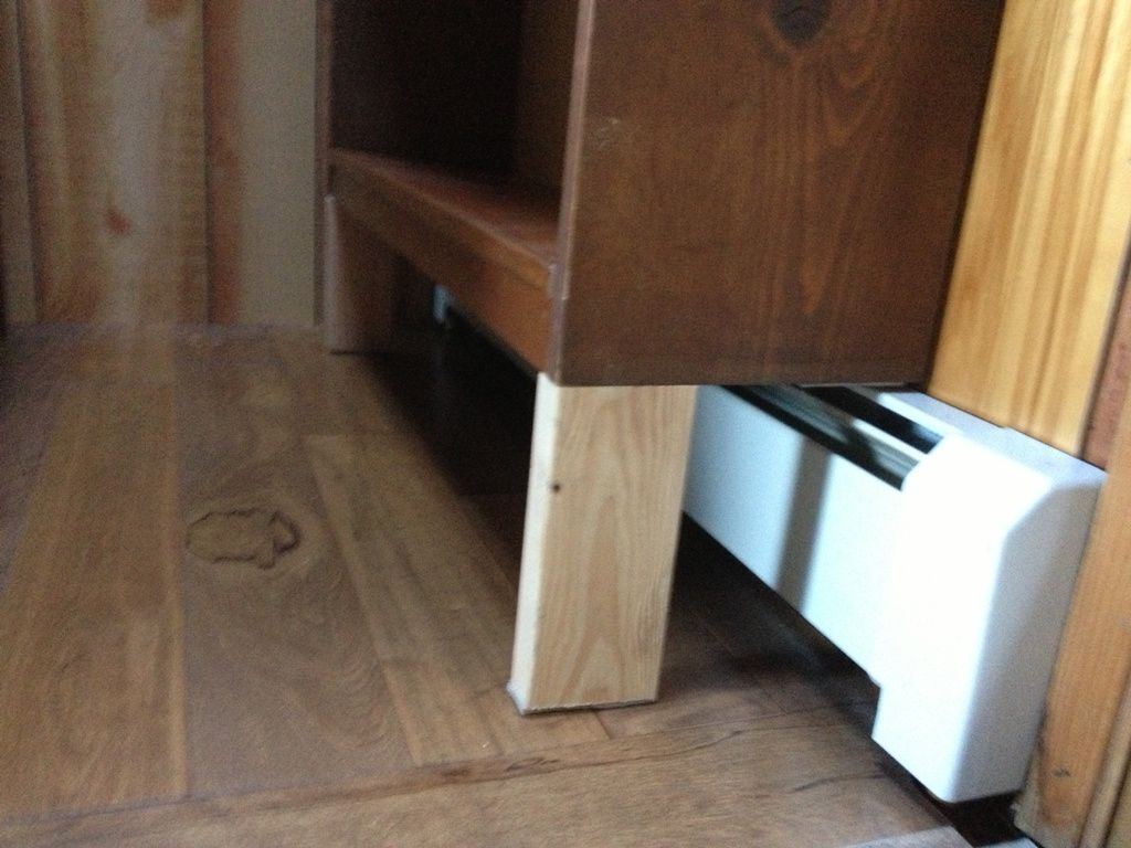 Building Code Baseboards Space From Floor