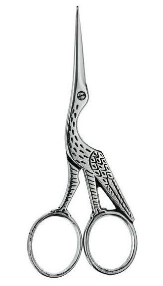 06. Stork Scissors 'Antique Pattern'. Beautiful. Ernest Wright and Son Limited is a family company hand-making finest scissors and shears in Sheffield, England since 1902.