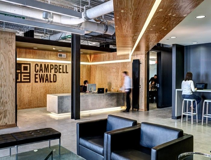 Office Tour Lowe Campbell Ewald S Detroit Offices Interior Life Pinterest Office