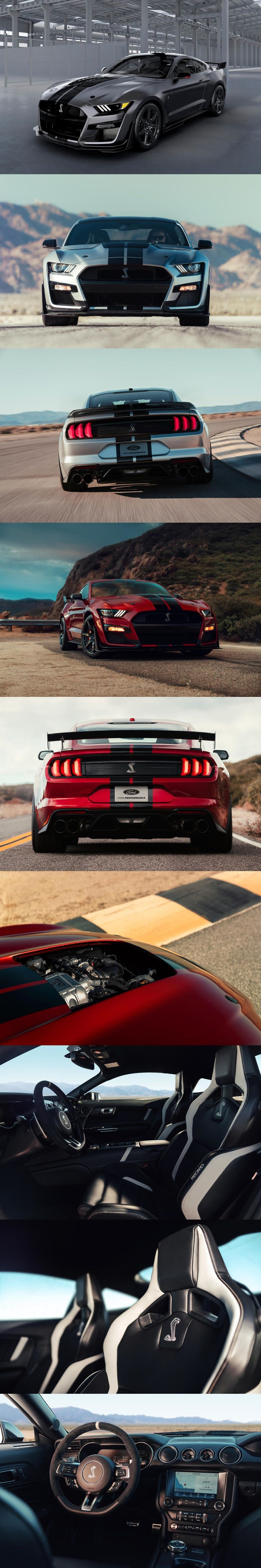 760 Hp Ford Mustang Shelby Gt500 Will Have A Supercar Price It Even Has A Unique Shade Of Venom M Ford Mustang Shelby Gt500 Mustang Shelby Ford Mustang Shelby