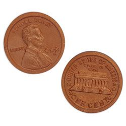 Plastic Pennies - Pkg. of 100