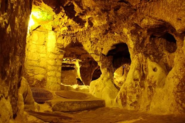 Man Digs Under House And Finds 5 000 Year Old Underground City Underground Cities Ancient Underground City Underground