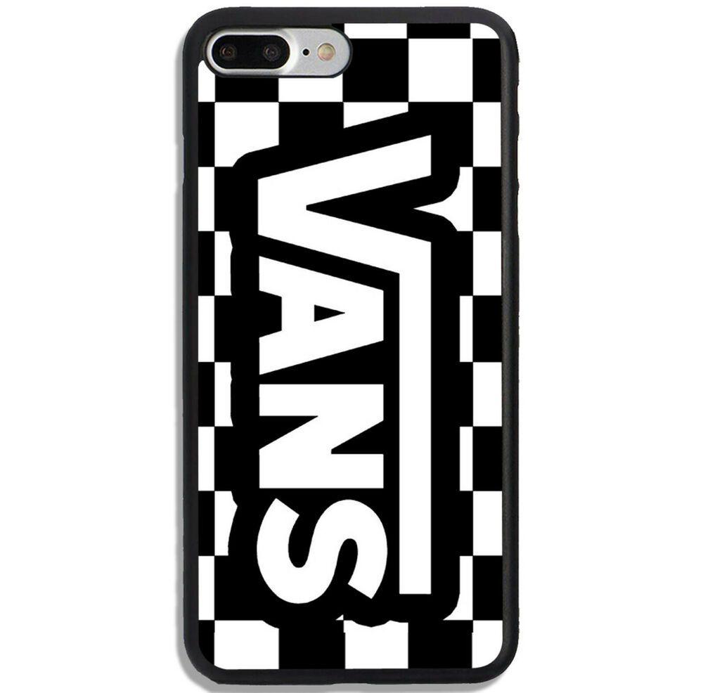 Best Vans Logo Chess Pattern Black White Iphone 6 7 8 X Plus Phone Case Cover Unbranded Iphone 7 Vans Logo Pattern Iphone