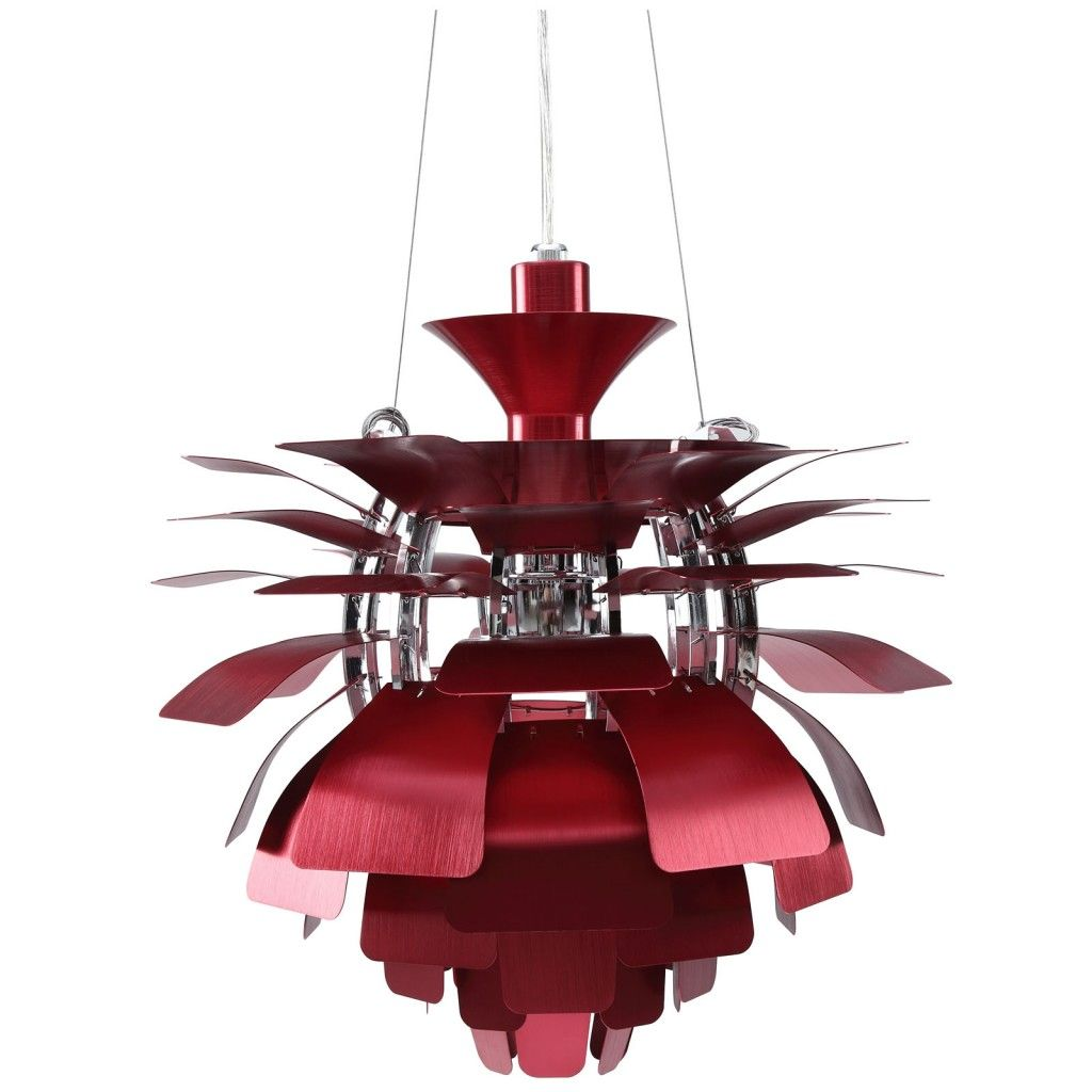Red Artichoke Chandelier: My Interior Style.