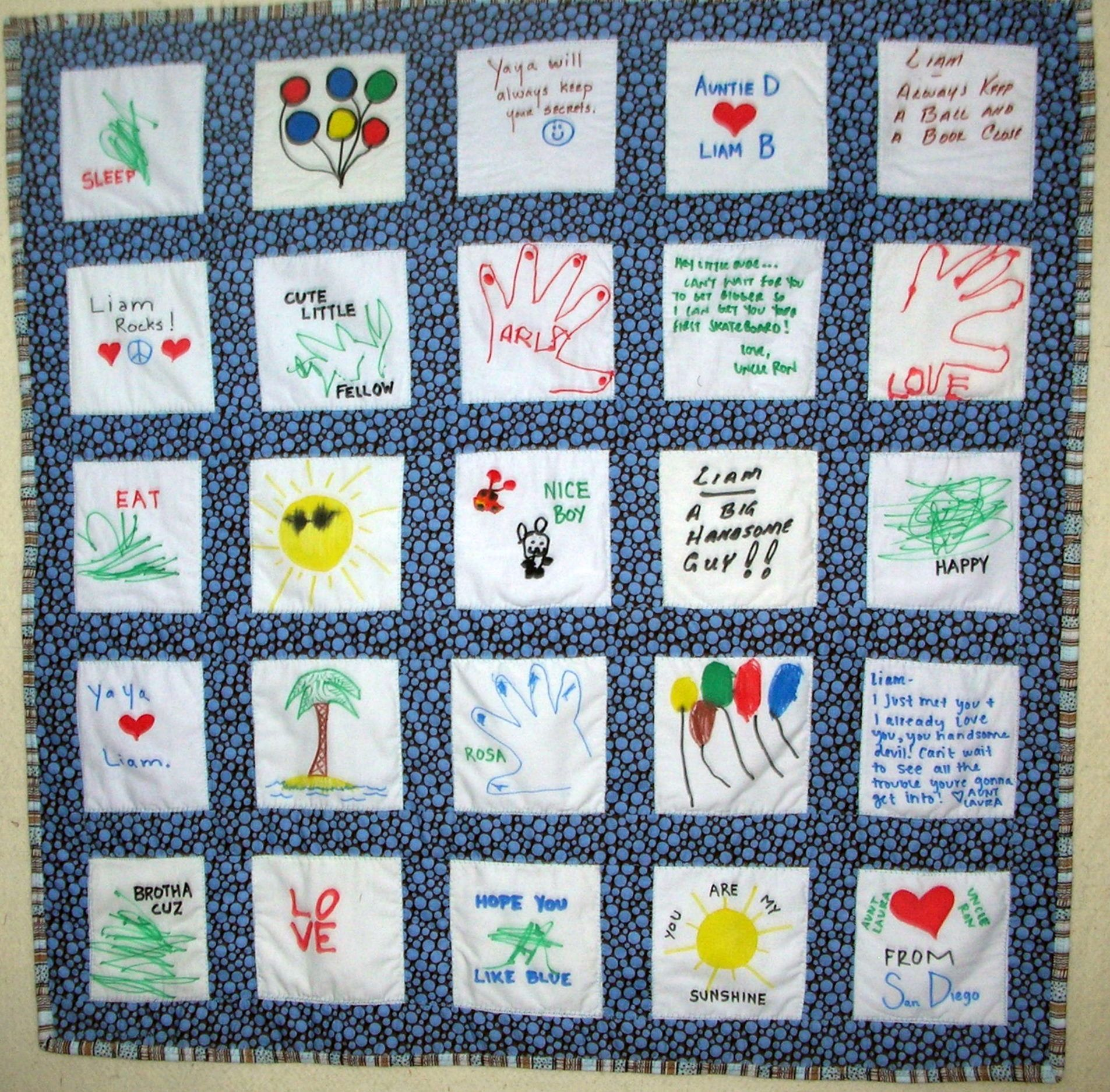 memory baby quilts | Memory Quilts & Pillows | Baby quilts ... : cute quilts for kids - Adamdwight.com