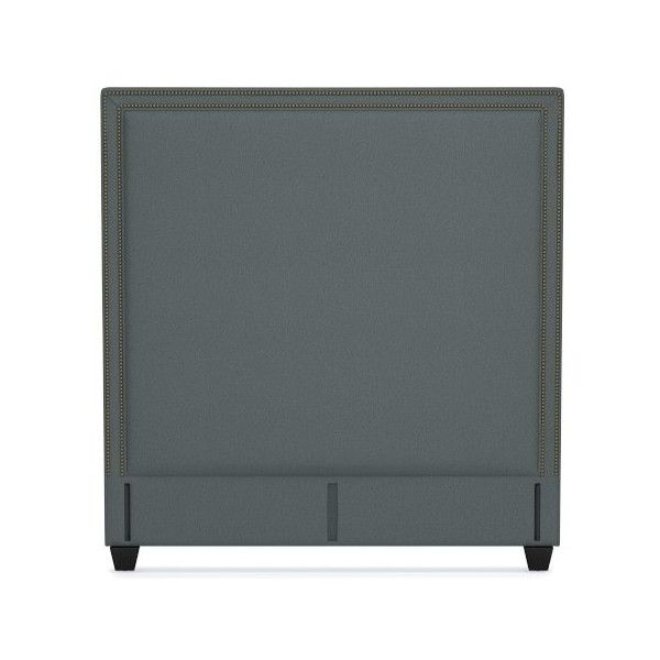 Williams Sonoma Gramercy Tall Headboard Only 188 680 Rub Liked On Polyvore Featuring