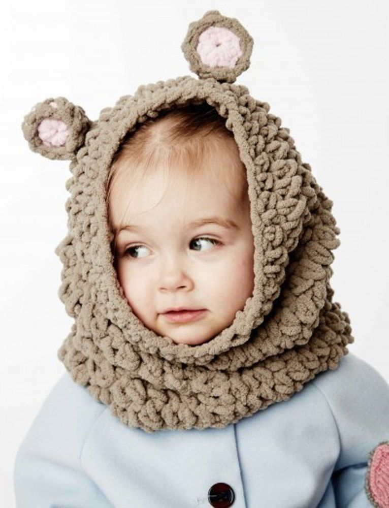 Mousie Snood in Bernat Baby Blanket - Downloadable PDF. Discover ...