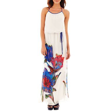 d542d71e735d Bisou Bisou® Blouson Tie-Waist Dress - jcpenney  70.00