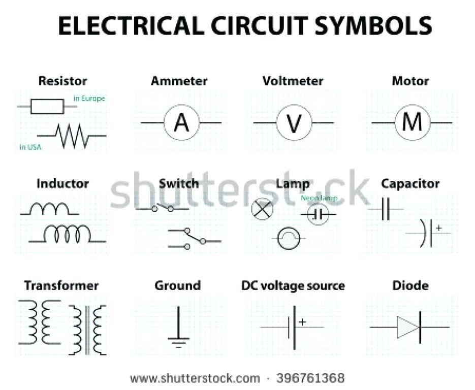 Wiring Diagram Symbols Chart Bookingritzcarlton Info Electrical Symbols Circuit Diagram Electrical Wiring Diagram