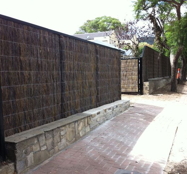 Brush Fencing Adelaide Installers Of High Quality Brush