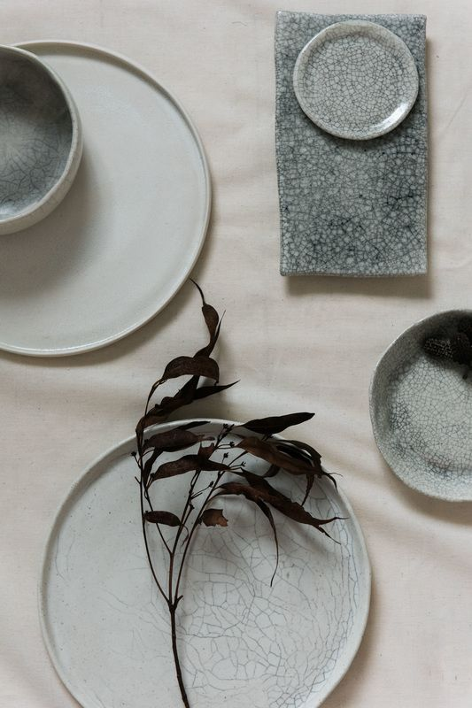 Ceramics by two warm hands... styling by Beatrice Fagerström of ausswede design & styling photos by Hannah McCawley
