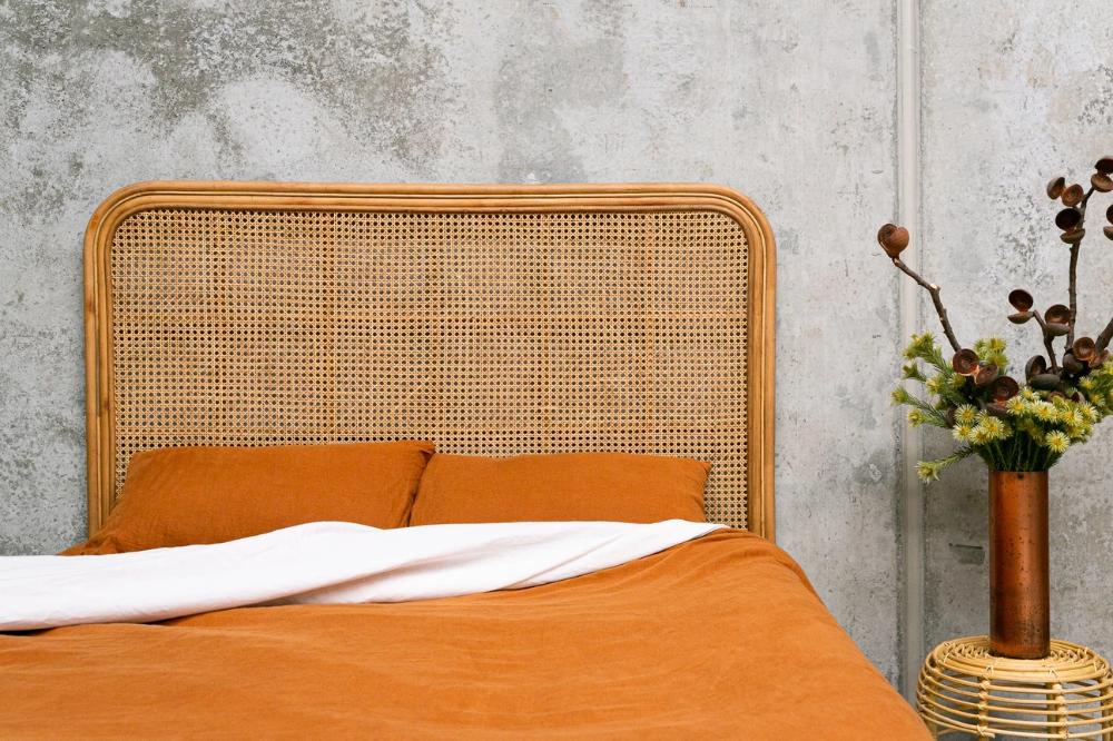 Raffles Bed Head (May) Bed, Bed ensemble, Bedroom interior