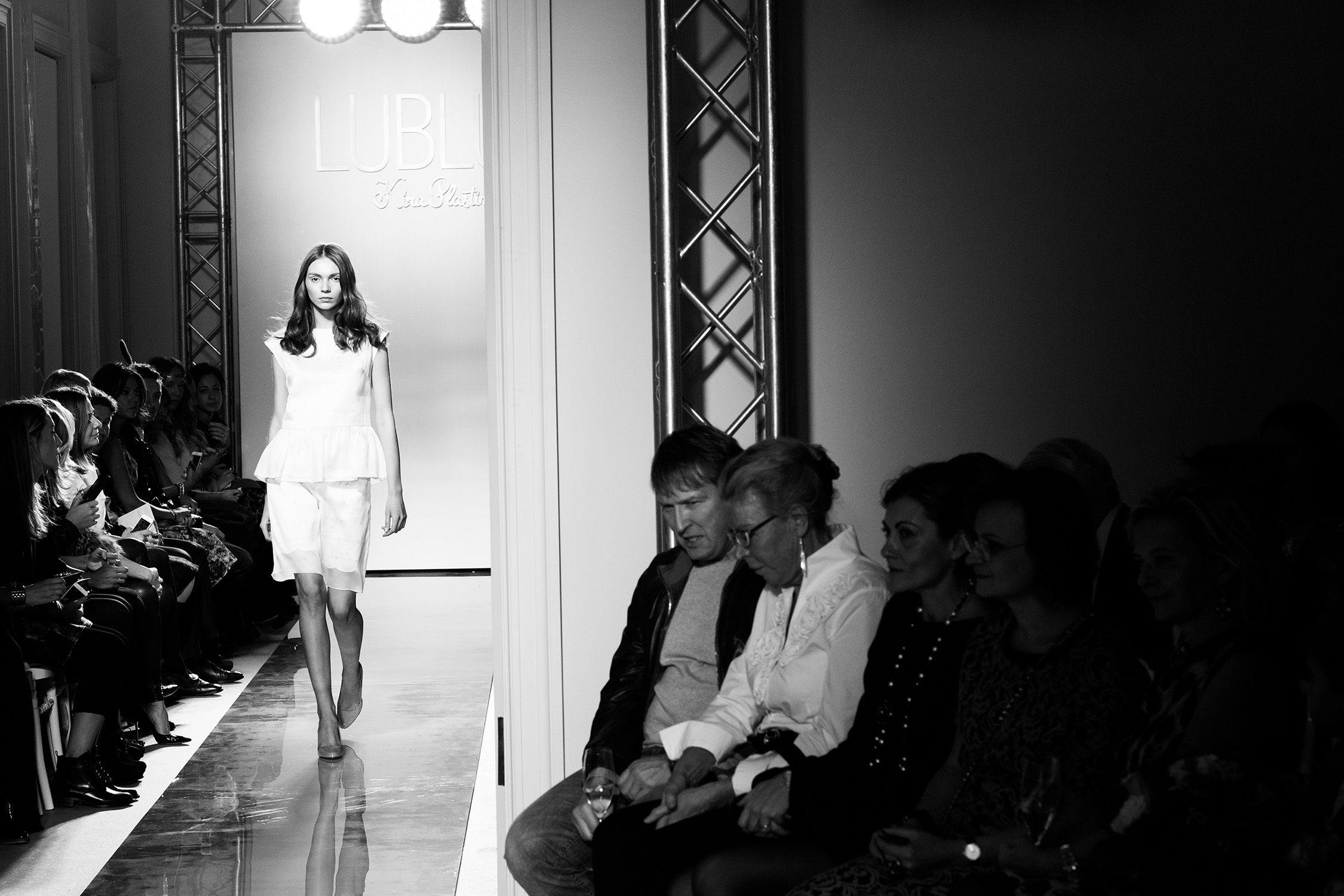 LUBLU Kira Plastinina runway. SS14 fashion show.
