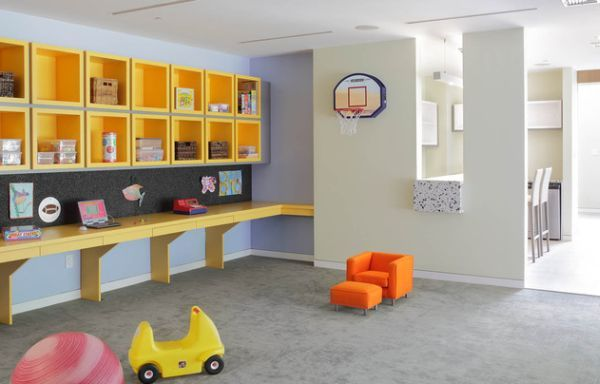 29 Kids\' Desk Design Ideas For A Contemporary And Colorful Study ...