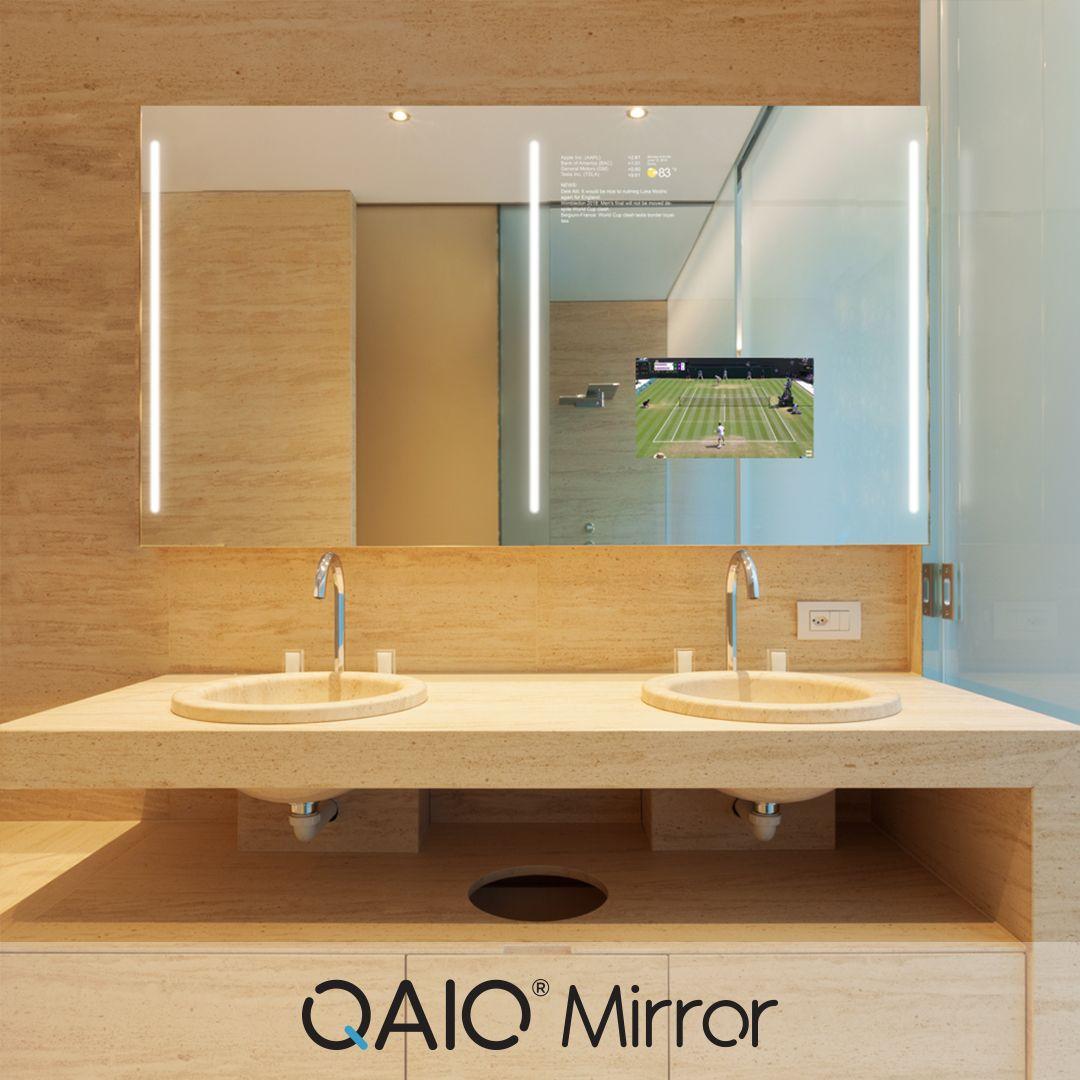 Qaio Mirror Tv In Bathroom Mirror Bathroom Mirror [ 1080 x 1080 Pixel ]