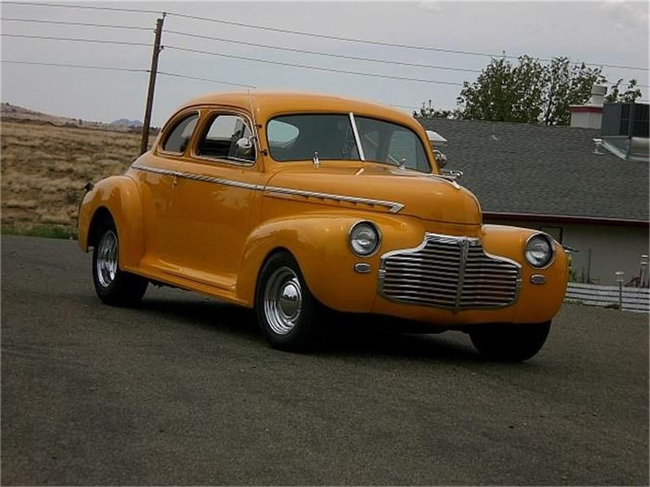 Yellow 1941 Chevrolet Custom for sale located in Prescott
