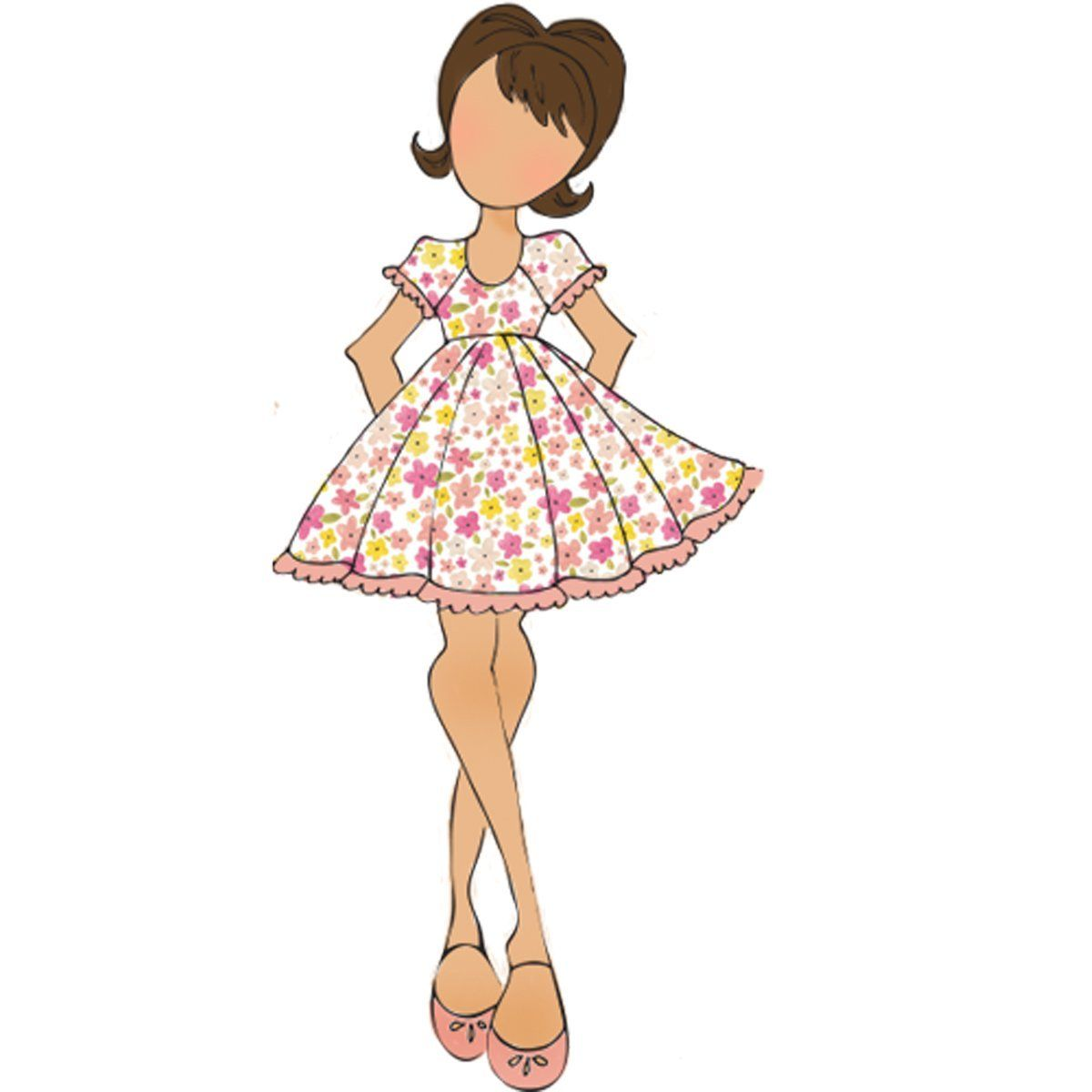Prima Marketing Candie Julie Nutting Mixed Media Doll Rubber Cling Stamp 910792: Amazon.co.uk: Kitchen & Home