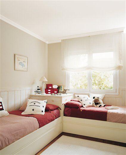 30 habitaciones para dos o m s ni os - Ideas habitaciones ninos ...