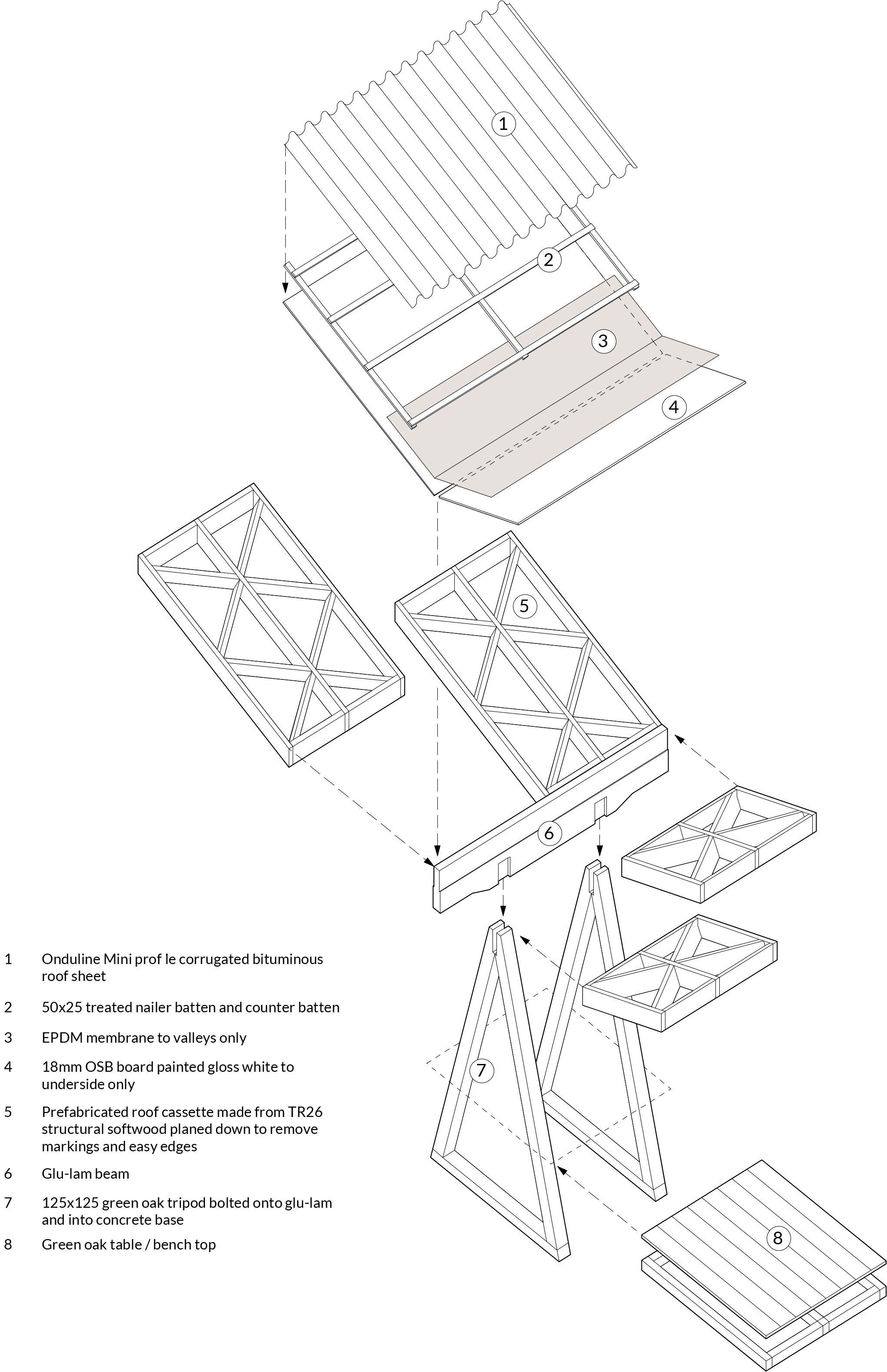 Howard Miller Detail Assembly Diagram Architecture Diagram Words