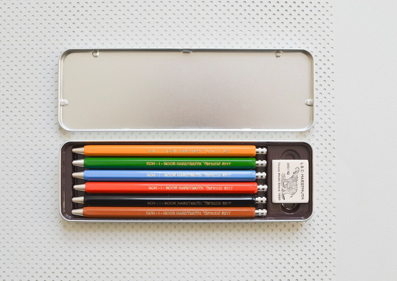 Koh i Noor metal mechanical clutch pencil 5356 with 3.8 mm lead