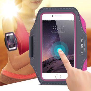 Armband Case For Iphone 6 Plus Sport Gym Armband For Iphone 6 Plus 5.5 Inch Jogging Running Armband Phone Case Armbands