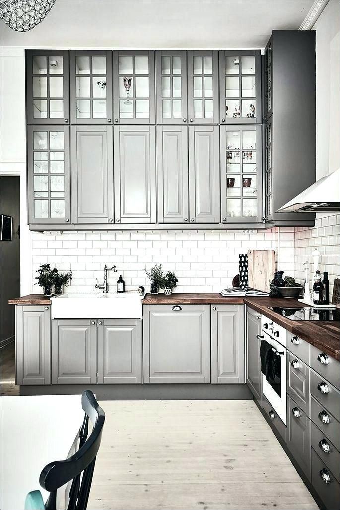 Best Image Result For Bodbyn Grey Kitchen Home Decor In 2019 640 x 480