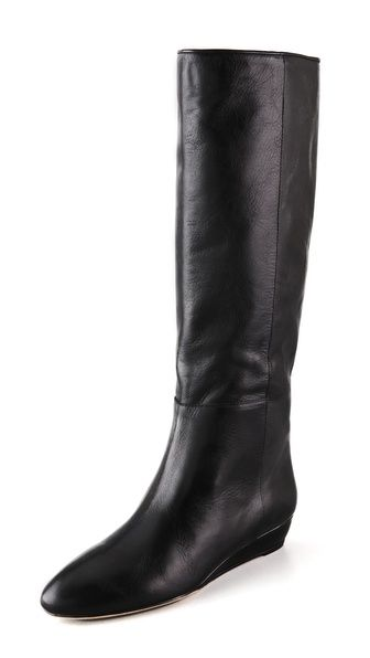 Boots, Wedge boots, Low wedges