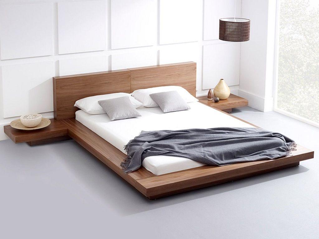 30 Simple Modern Bedroom Decor Ideas With Wooden Beds Platform Bed Designs Modern Bedroom Furniture Bedroom Bed Design