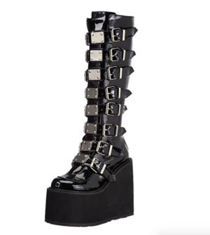 SAND WARRIOR CYBER GOTH platform boots