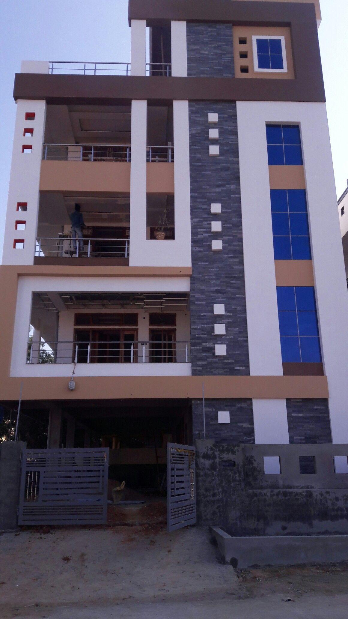 Duplex House Design, House Front Design, House