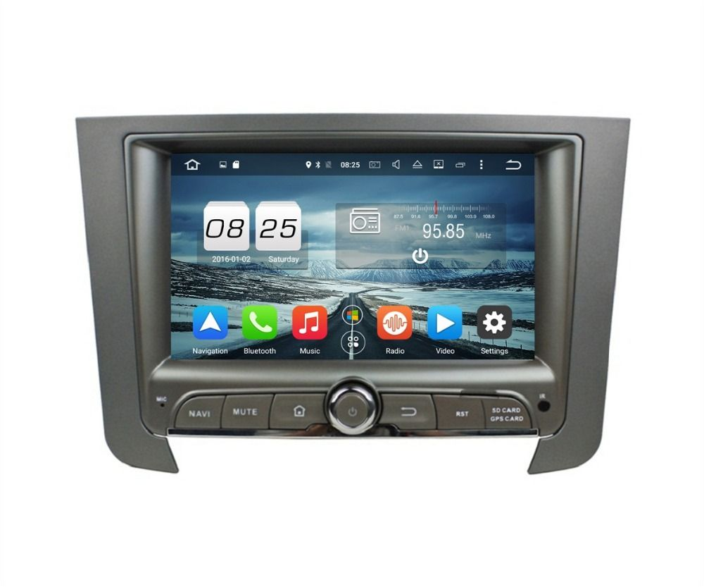 2gb Ram 7 Octa Core Android 6 0 Car Dvd Player For Ssangyong
