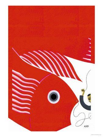 The Fish-Kite No Title Pôsters por Frank Mcintosh na AllPosters.com.br