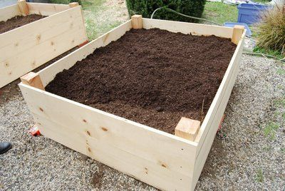 How to fill a raised garden bed with the no dig method former chef cool outdoor ideas for How to fill a raised garden bed