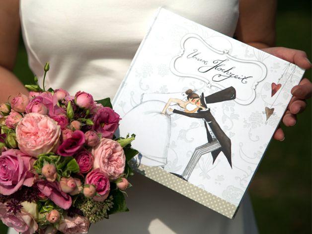 Hochzeit Hochzeitsalbum Hochzeitsgeschenk von Pipapier